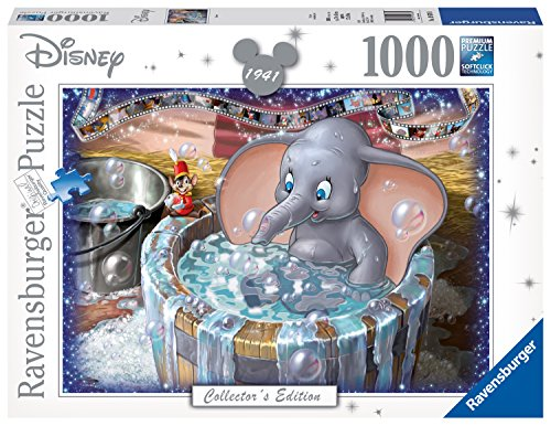 Ravensburger 19676 Disney Dumbo Collector's Edition 1000 Piece Puzzle for Adults, Every Piece is Unique, Softclick Technology Means Pieces Fit Together Perfectly