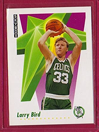 dcd35ae8df6 Amazon.com  1991-92 SkyBox  12 Larry Bird  Collectibles   Fine Art