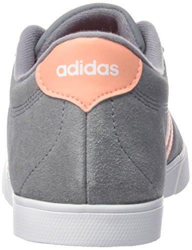 Blanc Gris Rouge Silver Grey One Metallic Gris White adidas W Fitness Brisol Courtset Chaussures de Femme Footwear Ftwbla vnOw76Uq