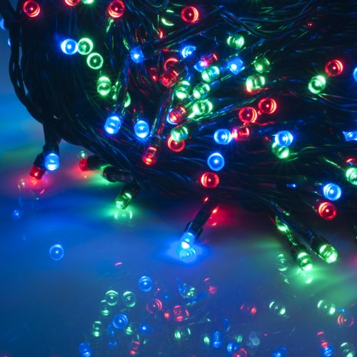 Blue And Red Led Christmas Lights