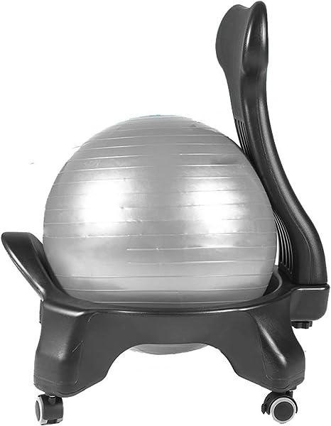 Silla Pilates Pro con bola, sillas de bola de yoga para la oficina ...