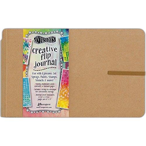Ranger Creative Flip Journal Small Dylusions CreativeFlipJournal
