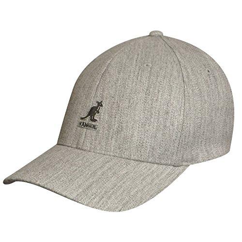 Flannel Dark Kangol - Kangol Men's Wool Flexfit Baseball, Flannel (Large/X-Large)
