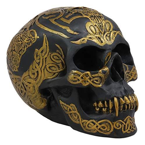 Ebros Celtic Tribal Knotwork Tattoo Black Ghost Vampire