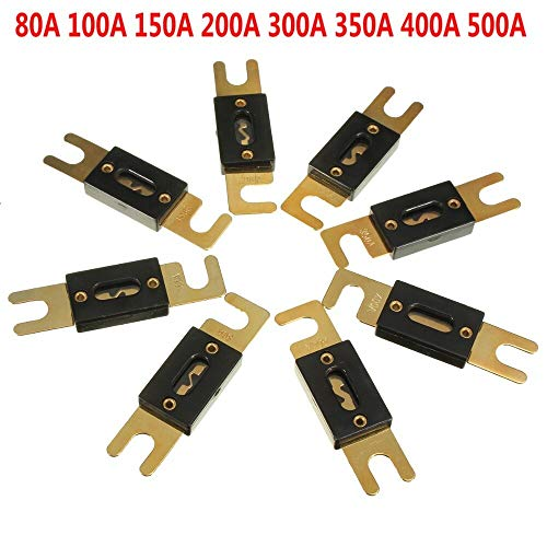 Car Bike Stereo Audio Resetable Fuses Edition : 200A Electric Disconnector 80A//100A//150A//200A//300A Jadeshay 12V DC Circuit Breaker