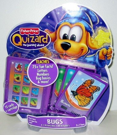 Fisher-Price Quizard Bugs and Crawling Creatures Card Pack