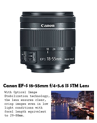 Canon-EOS-Rebel-T7i-242-MP-DSLR-Camera-with-Canon-EF-S-18-55mm-f4-56-IS-STM-Lens-Tamron-70-300mm-f4-56-Di-LD-Lens-2-Memory-Cards-2-Aux-Lenses-50-Tripod-Accessories-Bundle-24-Items