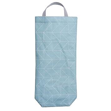 JINM Bolsa de plástico para bolsas de basura, soporte de ...