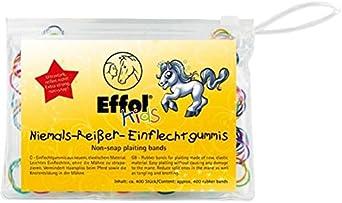 Effol - Gomas elásticas para trenzas para caballos (Paquete ...