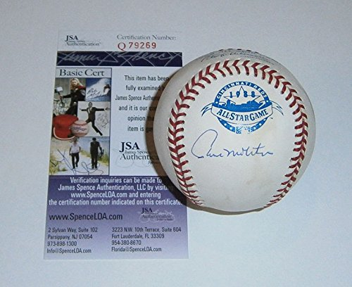 Paul Molitor Autographed Baseball - Brewers Paul Molitor Autographed Signature 1988 All-Star Game Baseball - JSA Certified Authentic