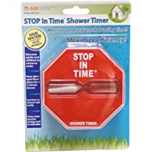 Stop in Time Shower Timer in Red, Light Blue or Dark Blue