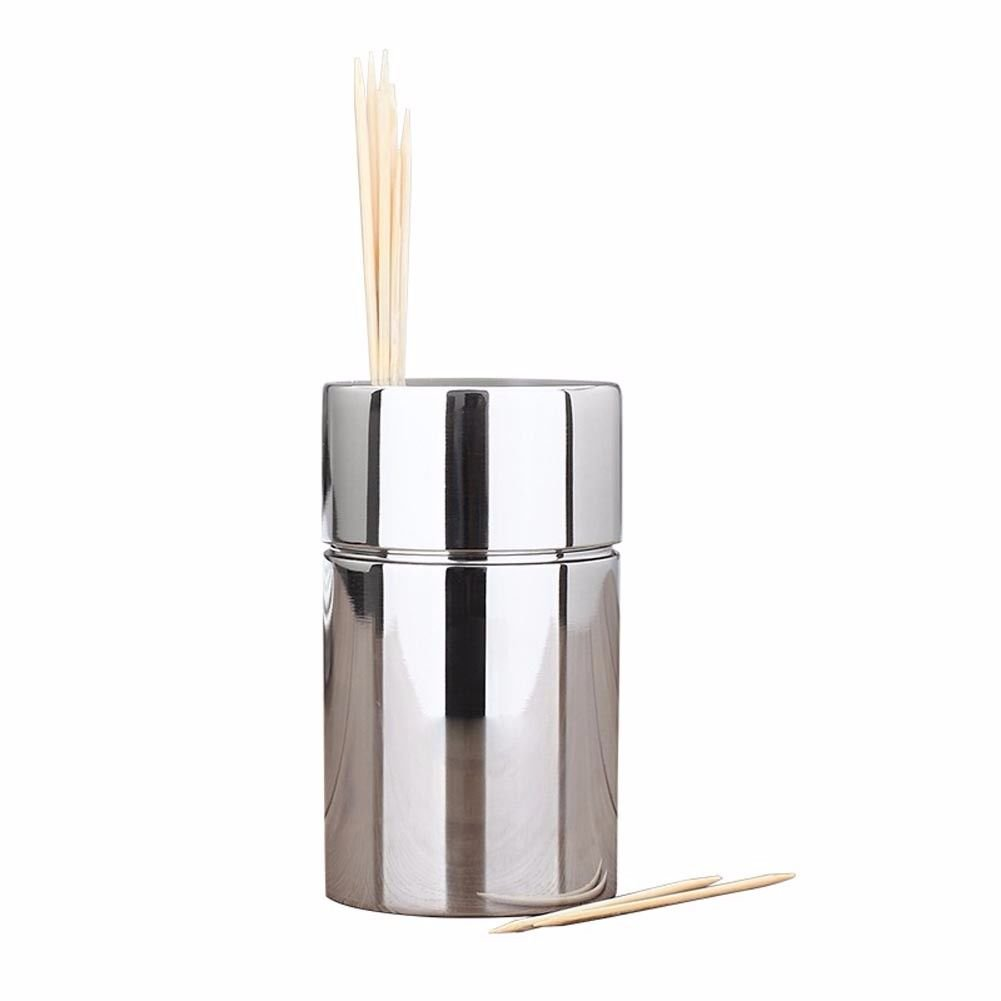 NHGY Toothpick bucket, simple style, creative and lovely, personalized stainless steel toothpick box.