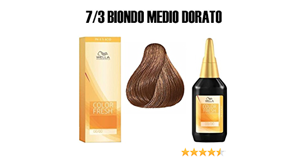 Wella, Color Fresh 7/3, 75 ml.: Amazon.es: Belleza