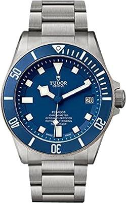 Tudor Pelagos 25600TB Blue Dial Titanium Case & Bracelet
