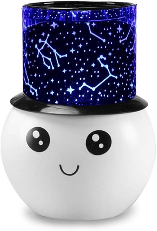 RMXMY Galaxy rotación de la estrella del LED romántico lámpara del ...