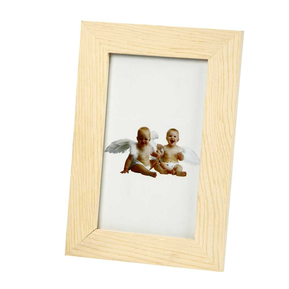 Creativ 10.5 x 16 cm 1-Piece Wooden Frame with Glass 57707