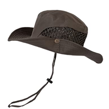 fbf5a6535d9f68 Men's Collapsible Wide Brim Sun Hat, Outdoor Ultraviolet-Proof Waterproof  Breathable Bucket Hat, Perfect for Fishing Gardening Hiking Camping Beach  and All ...
