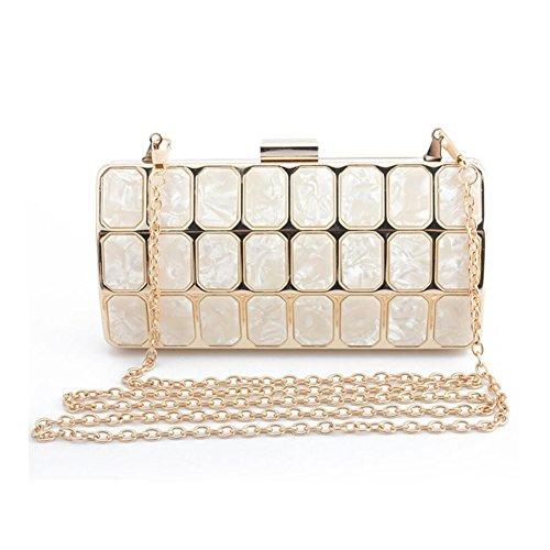 YAN Bolso de la cadena del embrague de la moda del bolso de las mujeres 2018 Nuevo regalo de la señora de All Seasons Ideal (Color : 2) 4