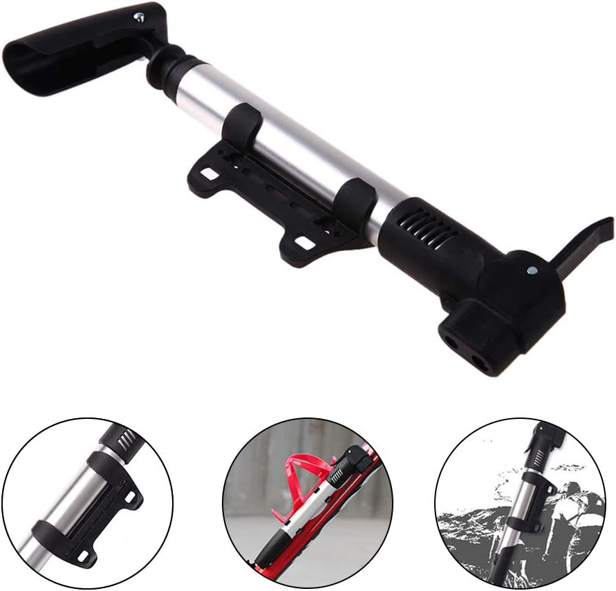 VARWANEO Portable Mini Bike Pump High Pressure Schrader /& Presta Valve Ultralight Accurate Inflation Compact Bicycle Pump for Road,Mountain and BMX Bikes Includes Mounting Bracket