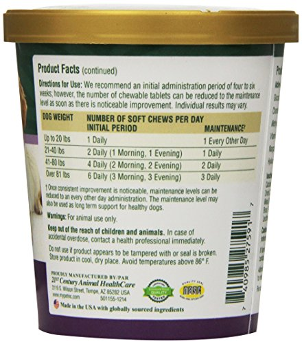 PetNC Natural Care Hip and Joint Soft Chews for Dogs, 90 Count 3