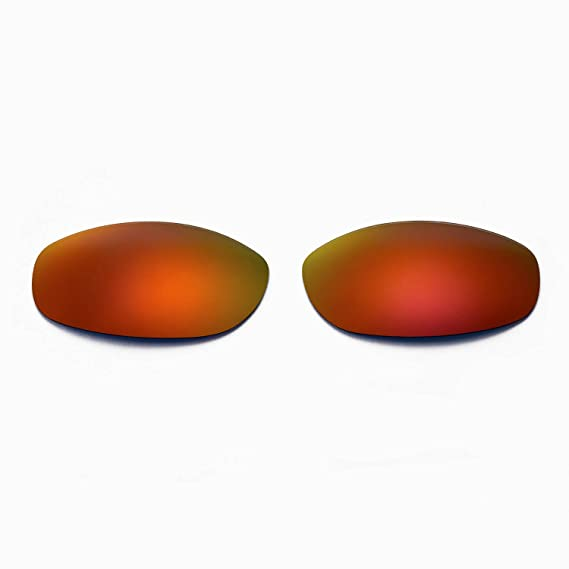 7e70b1c67c Amazon.com  Cofery Replacement Lenses for Oakley Tightrope Sunglasses - Multiple  Options Available (Fire Red - Mirror Coated Polarized)  Clothing