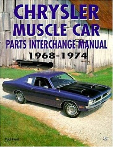 Chrysler Muscle Cars - Chrysler Muscle Car Parts Interchange Manual, 1968-1974