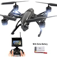 FPV Drone with 2.0MP HD Camera High-hold Mode One-Key-return Headless 2.4GHz 6-Axis RC Quadcopter