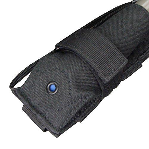 Condor Taschenlampe Tasche Schwarz