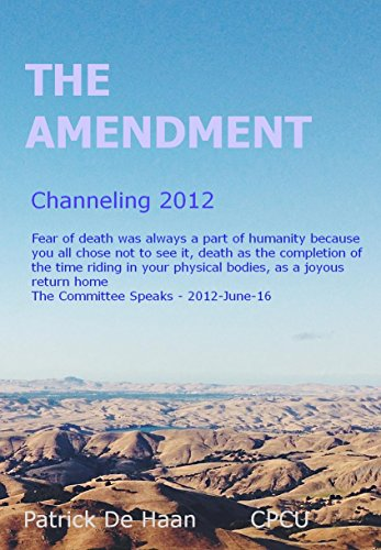 The Amendment Channeling: 1/7-2012, 80 Sessions (Haan 80)