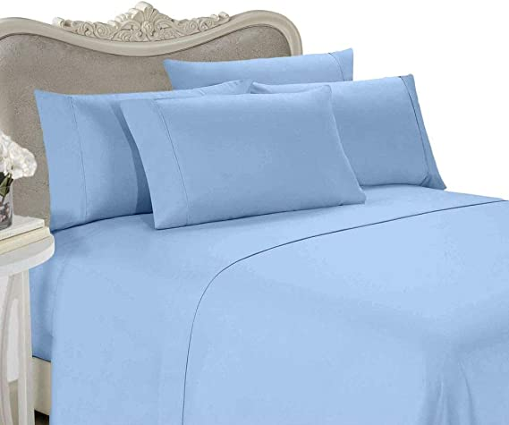 Details about  /Egyptian Cotton Extra Deep Pocket 3 PCs Fitted Sheet Set Solid Colors US Twin XL