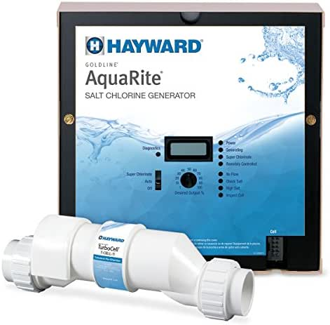 Hayward Goldline AQR15 AquaRite Electronic Salt Chlorination System for In-Ground Pools ,  40,000-Gallon Cell
