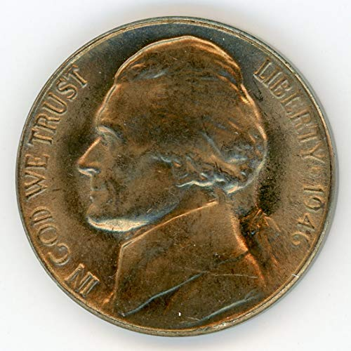 1946 S Jefferson Nickel MS-64