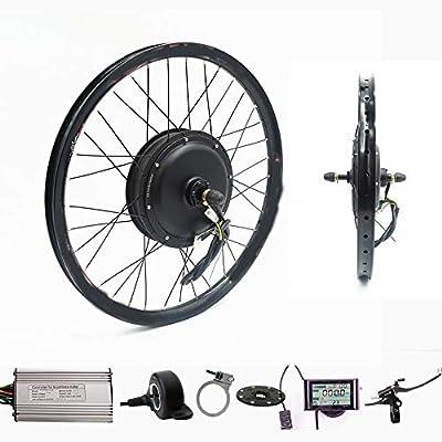 Wenhu 70Km / H 72V 2000W Rueda Trasera Motor Bicicleta eléctrica Kit Bicicleta eléctrica Kit de conversión,27.5inch: Amazon.es: Deportes y aire libre