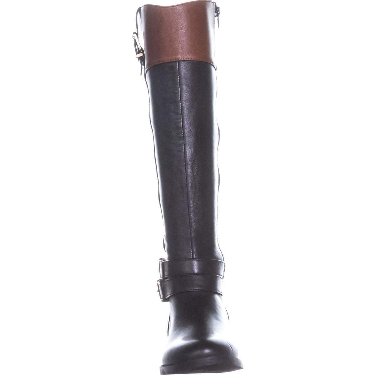 Size 11.0 Black INC International Concepts Womens Frankll Closed Toe Knee High