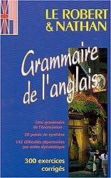 Le Robert & Nathan grammaire de l'anglais