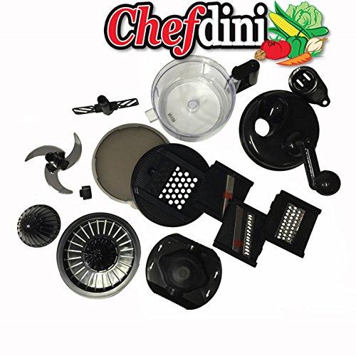 Chefdini Food Processor (Black)