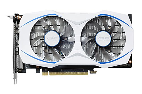 ASUS Geforce Dual GTX 1050 Ti 4GB Dual-Fan Edition DVI-D HDMI DP 1.4 Gaming Graphics Card (DUAL-GTX1050TI-O4G) Graphic Cards