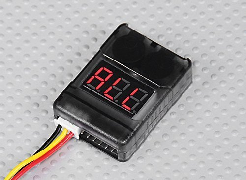 Heli Controller - LiPo Battery Low Voltage Alarm Buzzer Tester 2S-8S DJI Walkera Hubsan Traxxas - FAST FREE SHIPPING FROM Orlando, Florida USA!