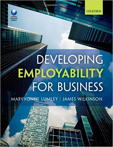 Book Developing Employability for Business by Maryvonne Lumley (2014-01-28)