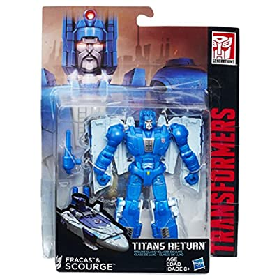Transformers Generations Titans Return Titan Master Fracas and Scourge: Toys & Games