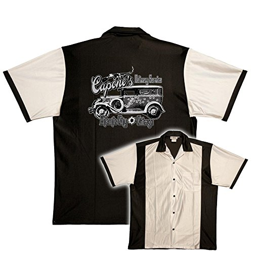 Capones Delivery Service On Retro Bowling Shirts Cruisin Usa Bowling Shirts