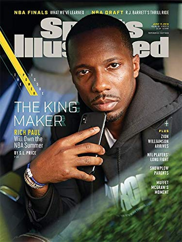 Sports Illustrated Magazine (June 17, 2019) The King Maker Rich Paul Cover