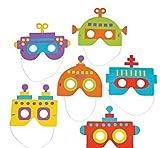 robot mask - Robot Mask Craft Kit x 6