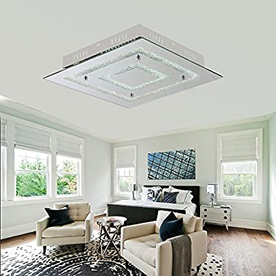 Crystal and Acrylic Ceiling Lights