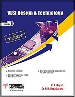 Buy VLSI Design and Technology for SPPU 15 Course (BE - I