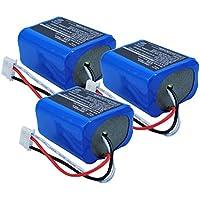 3x Exell 7.2V Battery Fits iRobot 5200B Braava 380 380T Mint Plus 5200 5200C