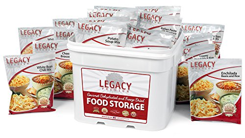 Gluten Free 25 Year Shelf Life Food Storage Supply – 120 Large Servings – 27 Lbs – Wise Emergency Survival Preparedness – Freeze Dried Meals