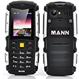 [Version 3G Cadeau pour Papa ] EasySMX MANN ZUGS IP67 3G Téléphone Portable Etanche Anti-poussière Antichoc Téléphone Mobile Extérieure Robuste avec Caméra Bluetooth Téléphone Cellulaire de Longue Veille Batterie 2570mAh (Gris)