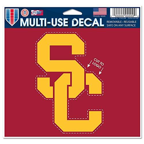 """WinCraft NCAA USC Multi-Use Decal, 4.5"""" x 5.75"""""""