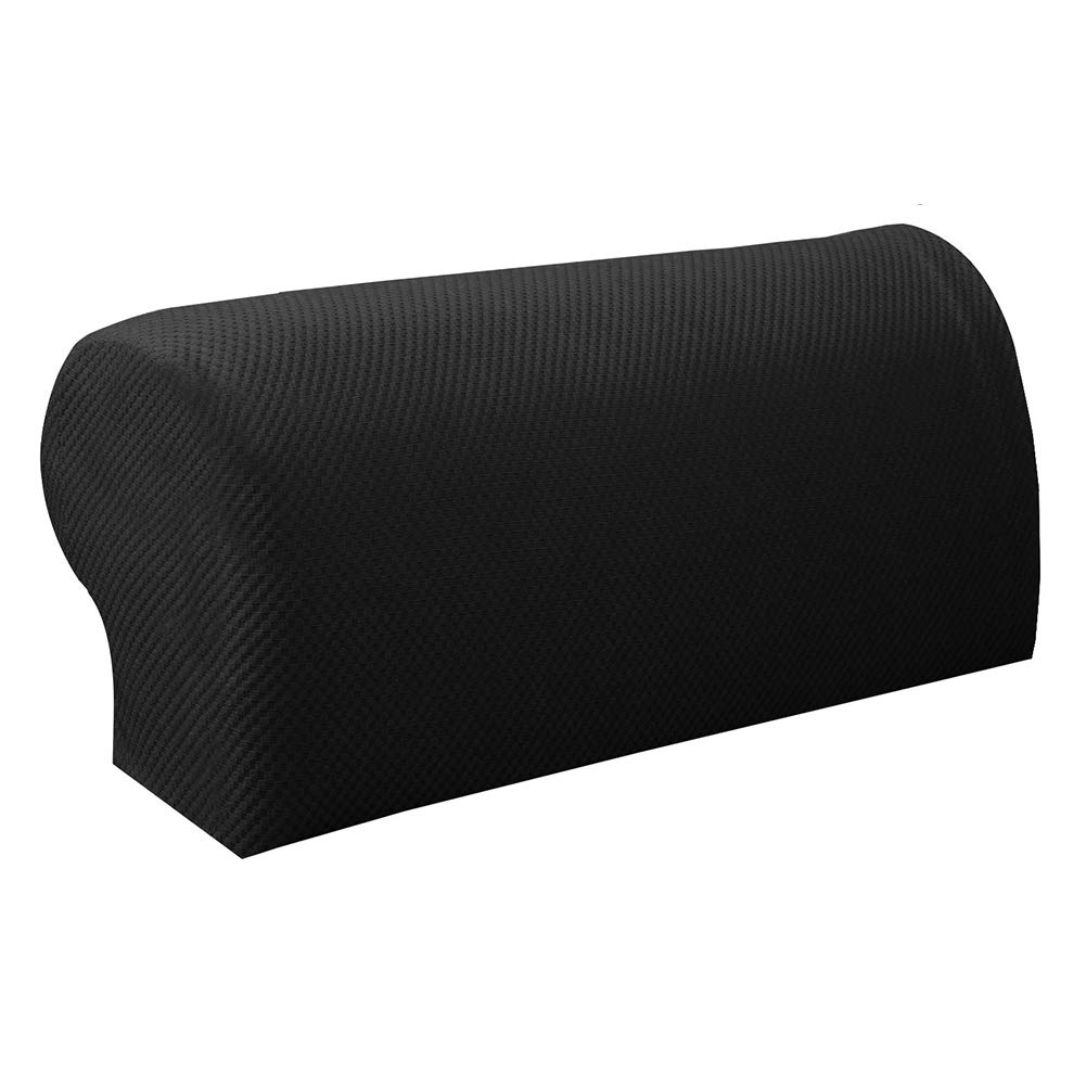Cixof 1Pair Arm Chair Protector Sofa Couch Armchair Covers Stretch Armrest Cover